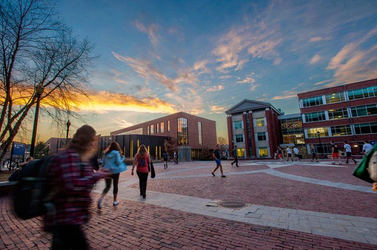 UConn Storrs campus beauty shot